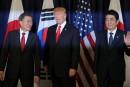 Trump menace la Corée du Nord d'une riposte «sévère»