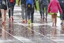 La pluie a retardé les compétitions vendredi soir.... | 7 juillet 2017