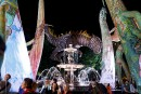 Les Plasticiens volants, fontaine de Tourny,7 juillet...   8 juillet 2017