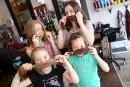 Quatre petites soeurs au grand coeur
