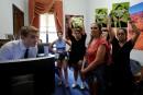 Arrestations au Congrès, qui prépare une réforme de l'assurance santé