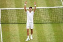 Wimbledon: Novak Djokovic l'emporte et critique le gazon