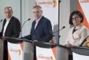 Course à la direction du NPD: le climat unit les quatre candidats lors du débat