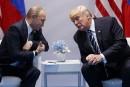 Une collusion avec Poutine? Trump trouve l'idée absurde