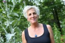 Francine Potvinà bord de l'expédition maritime Canada C3