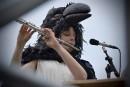 Le spectacle L'orchestre d'hommes-orchestres est présenté au parc de l'Amérique-Française... | 12 juillet 2017