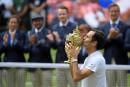 Roger Federer couronné pour la 8<sup>e</sup>fois à Wimbledon