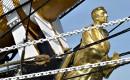 Le personnage à la proue du navire italien Amerigo Vespucci,... | 16 juillet 2017