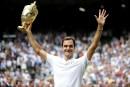 Classement ATP: Federer remonte en 3<sup>e</sup>place, Raonic glisse en9<sup>e</sup>