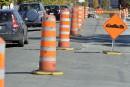 Pause dans les travaux routiers de la Ville
