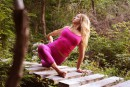 Complètement yoga et juste assez techno!