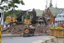 L'ancienne banque Molson du centre-ville de Bedford a été démolie,... | 17 juillet 2017