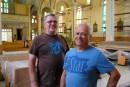 Les membres de la Fabrique de la paroisse Sainte-Pudentienne de... | 17 juillet 2017