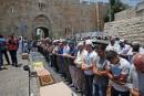 Jérusalem: les musulmans refusent les détecteurs de métaux israéliens