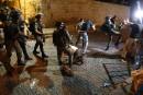 Nouveaux heurts entre Palestiniens et policiers israéliens à Jérusalem