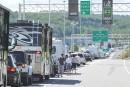 Stanstead : congestions majeures à prévoir au poste douanier