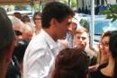 Justin Trudeau de passage à Chicoutimi