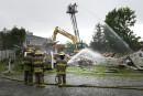 Un resto magogois détruit par un incendie