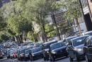 Circulation: le centre-ville de Montréal congestionné