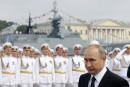 La Russie affiche sa puissance navale