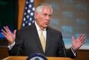 Les Américains ne veulent pas renverser Pyongyang, dit Tillerson