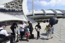 Le Stade olympique devient refuge pourdes migrants