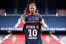 PSG: plus de 10000 maillots de Neymar vendus en une journée