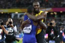 Justin Gatlin champion du 100 m, Usain Bolt finit 3<sup>e </sup>