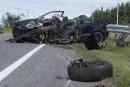 Accident de la route : un conducteur de 19 ans perd la vie