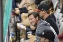 Wayne Gretzky a assisté au match en compagnie de son... | 8 août 2017