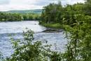 Voici la vue de la rivière Saint-François que l'on peut... | 11 août 2017