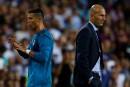 Zidane «contrarié» par la suspension de Ronaldo