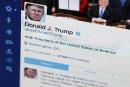Trump, cafouillage matinal sur Twitter