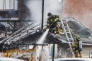 Incendie à Pointe-Gatineau: plus de peur que de mal