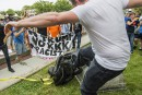 Trump blâme «les deux côtés» pour les violences à Charlottesville<strong></strong>