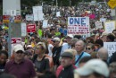 Rassemblement anti-racisme sous haute tension à Boston