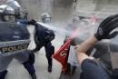 Le porte-parole de la manif contre La Meute s'abstient de condamner la violence