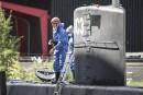 Visite d'un sous-marin: le corps d'une journaliste a été jeté à la mer