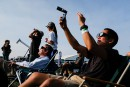 «Grande éclipse»: les Américains avaient les yeux rivés au ciel