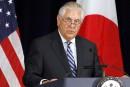 Le secrétaire d'État salue la Corée du Nord et avertit le Pakistan