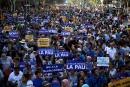 Démonstration de force contre la violence à Barcelone