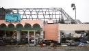 Un magasin complètement détruit, à Rockport... | 26 août 2017