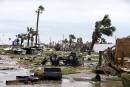 Un parc de maisons-mobiles a été détruit à Port Aransas.... | 26 août 2017