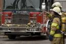 Un incendie détruit un immeuble à logements à Longueuil