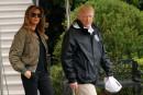 Le look de Melania Trump pour les inondations fait sourciller