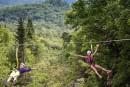 Ziptrek Écotours: planer au-dessus du mont Tremblant