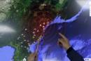 L'essai nucléaire nord-coréen a provoqué des glissements de terrain