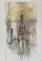 Alberto Giacometti, Caroline assise en pied, vers 1964-1965. Huile sur... | 6 septembre 2017