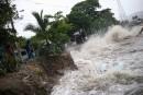Les vagues étaient féroces jeudi à Puerto Plata, en République... | 7 septembre 2017