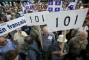 Le PQ rejette un durcissement de la loi 101
